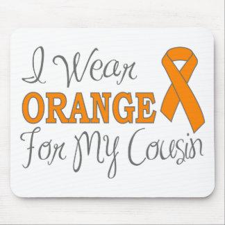 I Wear Orange For My Cousin (Orange Ribbon) Mousepad
