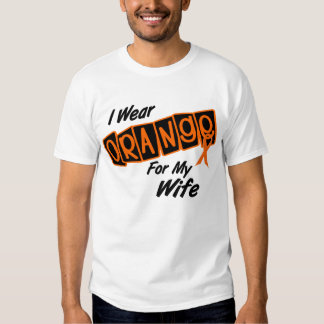 I Wear Orange For My WIFE 8 Tee Shirts