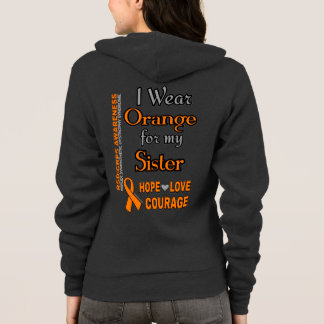 I Wear Orange for...Sister Hoodie