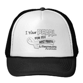 I Wear Pearl For My Best Friend 42 Mesothelioma Hats