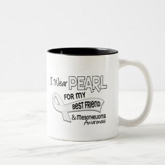 I Wear Pearl For My Best Friend 42 Mesothelioma Mug