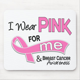 I Wear Pink For Me 42 Breast Cancer Mouse Pad
