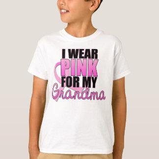 I Wear Pink for My Grandma - Breast Cancer Tees