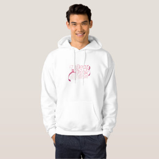 I Wear Pink For My Mom Breast Cancer Awarenesss Hoodie