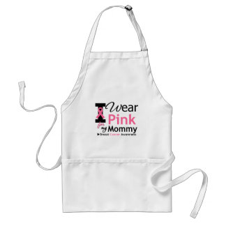 I Wear Pink For My Mommy Standard Apron