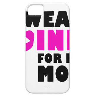 i wear pink for my mother barely there iPhone 5 case