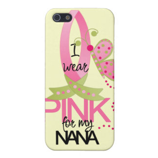I Wear Pink for my Nana iphone 4 Case