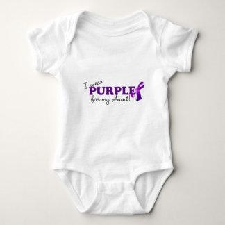 I Wear Purple Baby Bodysuit