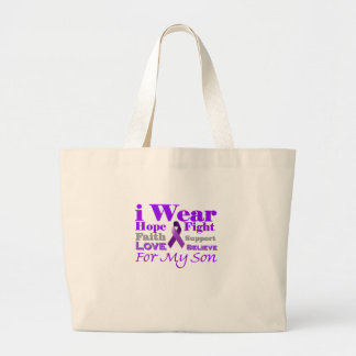 I Wear Purple (Epilepsy) for My Son Products Tote Bag
