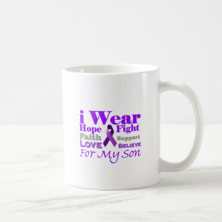 I Wear Purple (Epilepsy) for My Son Products Coffee Mugs