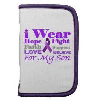 I Wear Purple (Epilepsy) for My Son Products Planners