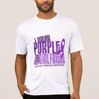 I Wear Purple For Girlfriend 6.4 Cystic Fibrosis T-Shirt