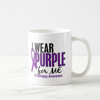 I Wear Purple For ME 10 Epilepsy Coffee Mug