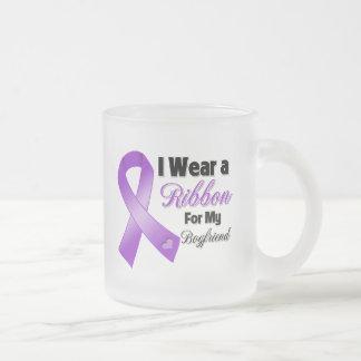 I Wear Purple For My Boyfriend.png Coffee Mugs