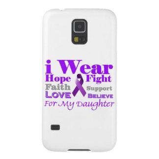 I Wear Purple - My Daughter Has Epilepsy Galaxy Nexus Cases