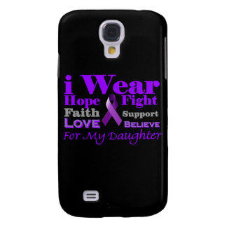 I Wear Purple - My Daughter Has Epilepsy HTC Vivid Covers