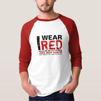 I, WEAR, RED, JOEL BOY T-Shirt