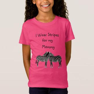I Wear Stripes for my Mummy EDS Awareness Shirt