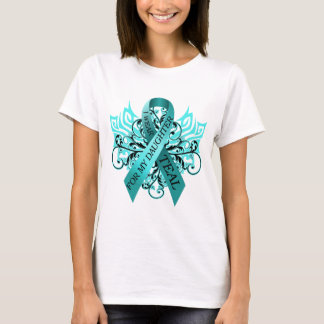 I Wear Teal for my Daughter.png T-Shirt