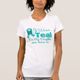 I Wear Teal For My Daughter Shirts