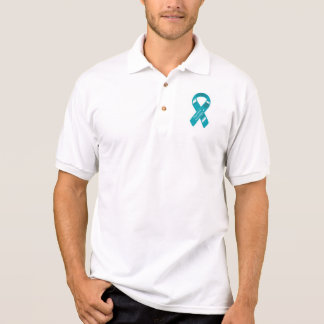 I wear TEAL for my patients polo shirt