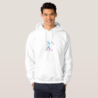 I Wear Teal Purple For Suicide Prevention Hoodie
