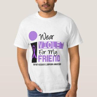 I Wear Violet For My Friend 9 Hodgkins Lymphoma Tees