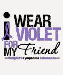 I Wear Violet For My Friend Shirt