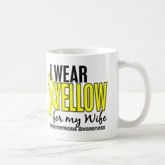 I Wear Yellow For My Wife 10 Endometriosis Coffee Mug