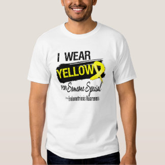 I Wear Yellow For Someone Special Endometriosis Tees