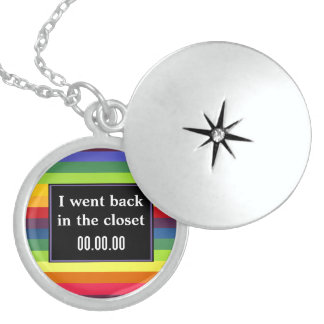 I went back in the closet - Rainbow Colors Custom Necklace