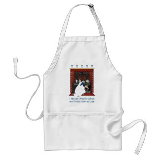 I Went to College So I Wouldn't Have to Cook Standard Apron