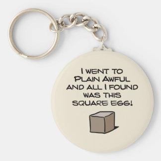 I Went To Plain Awful ... Key Ring