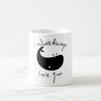 I Whale Always Love You Basic White Mug