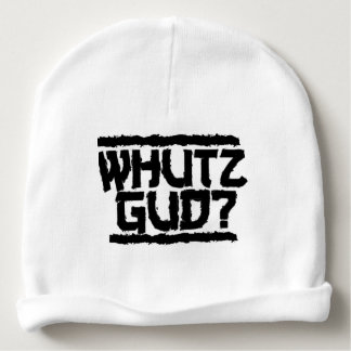 I Whats Gud? Hat For Babys Baby Beanie