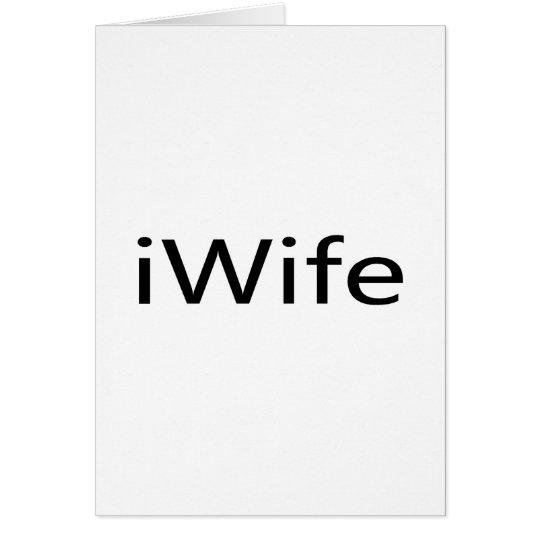 i Wife Card