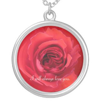 I will always love you. necklace