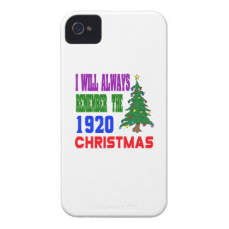 I will always remember the 1920 christmas Case-Mate iPhone 4 case