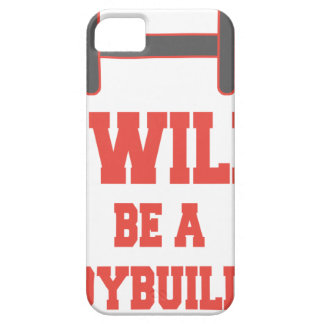 I will be a Bodybuilder Barely There iPhone 5 Case