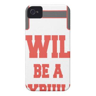 I will be a Bodybuilder Case-Mate iPhone 4 Case