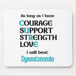 I will beat Dysautonomia Mouse Pad