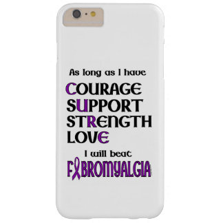 I will beat Fibro Barely There iPhone 6 Plus Case