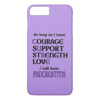 I Will Beat Pancreatitis iPhone 8 Plus/7 Plus Case
