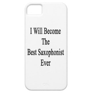 I Will Become The Best Saxophonist Ever iPhone 5/5S Case