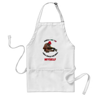 i-will-build-the-wall-myself standard apron