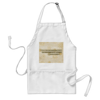 I will HOnor Christmas Charles Dickens Snowflake Aprons