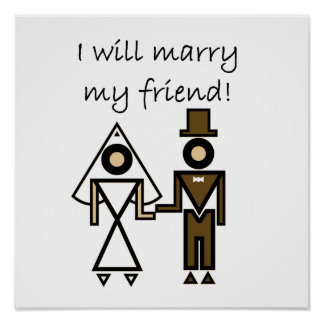 I Will Marry My Friend Poster