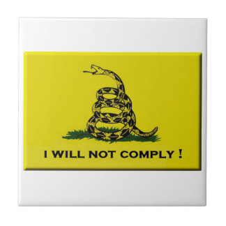I will not comply ceramic tile