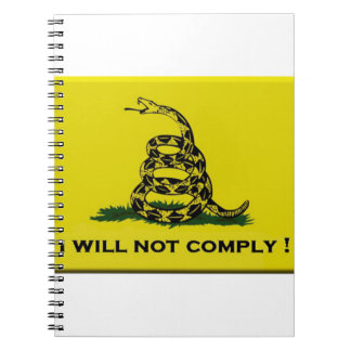 I will not comply notebooks