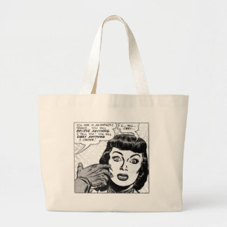 I ... Will ... Obey ... Large Tote Bag